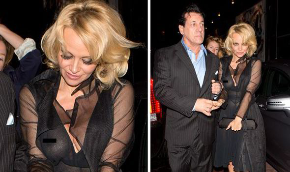 Share your pamela anderson flashing remarkable, very