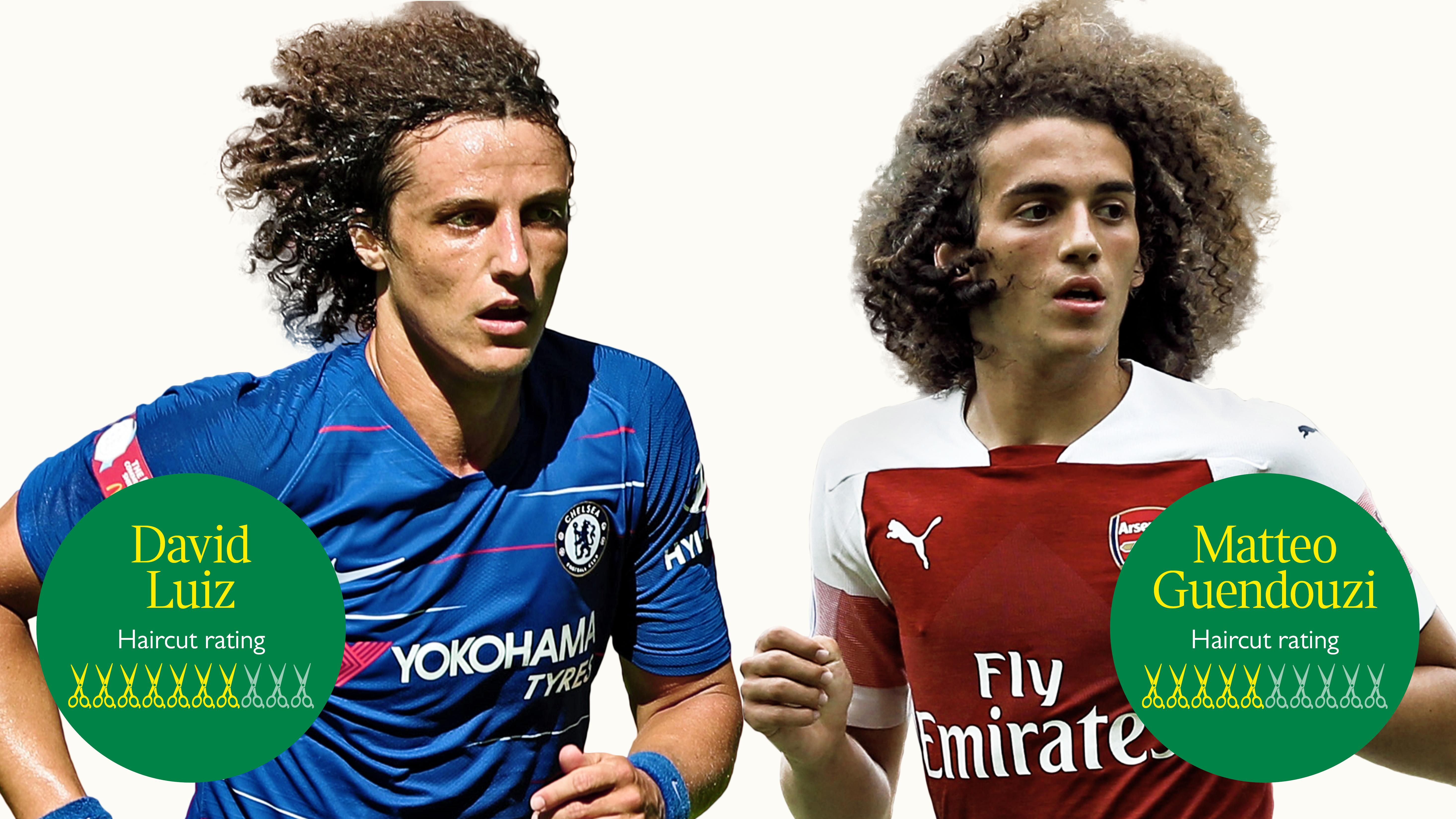 The big hair derby — David Luiz v Mattéo Guendouzi