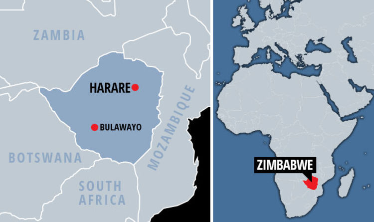 Zimbabwe map: Where is Zimbabwe and Harare? What is happening in the ...