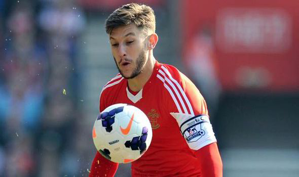 Image result for adam lallana southampton