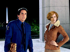 Ben Stiller Is Joined By Amelia Earhart Amy Adams For The Sequel