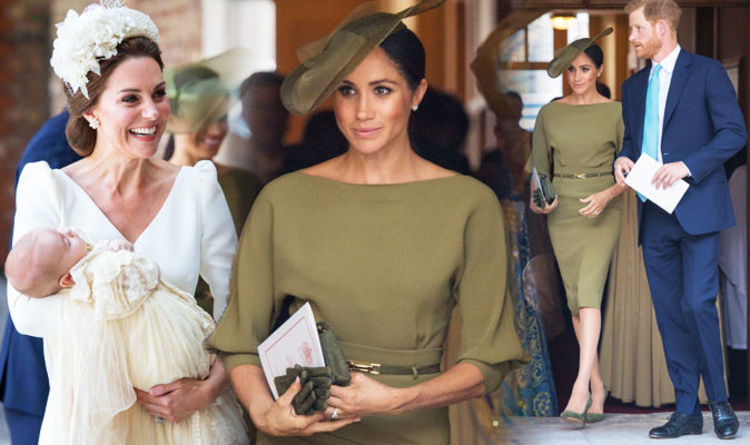 82ca3c592 Meghan Markle did this to complement Kate Middleton at Prince Louis'  christening