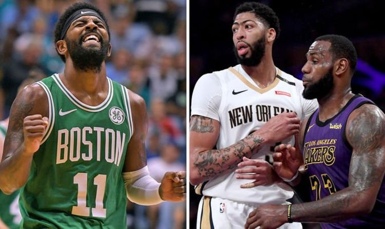 4faabe6f9e3e NBA trade news  LeBron James and Anthony Davis backed to join Celtics in  SHOCK deal
