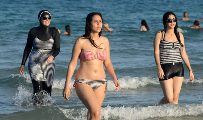 64260e3ba3a78 What is the burkini? Why have French towns banned the full-body swimsuit?