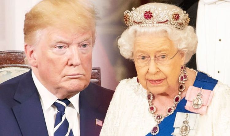 Donald Trump: Did Queen make dig during UK visit by wearing this
