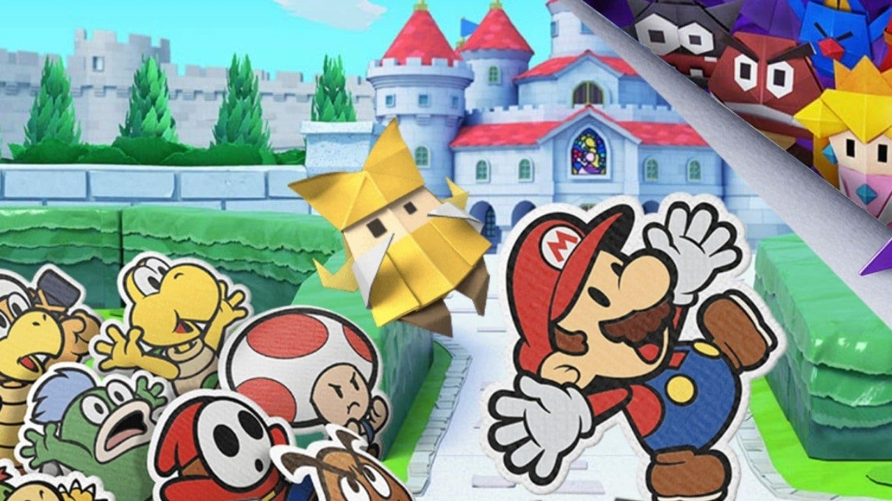 Paper Mario The Origami King Takes Shape On July 17