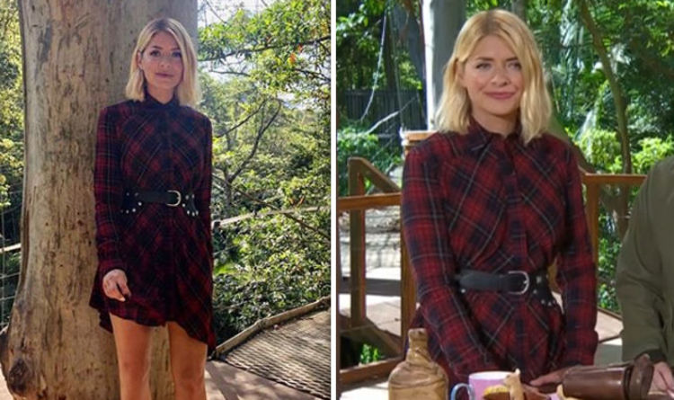 I'm A Celebrity 2018: Where is Holly Willoughby's tartan