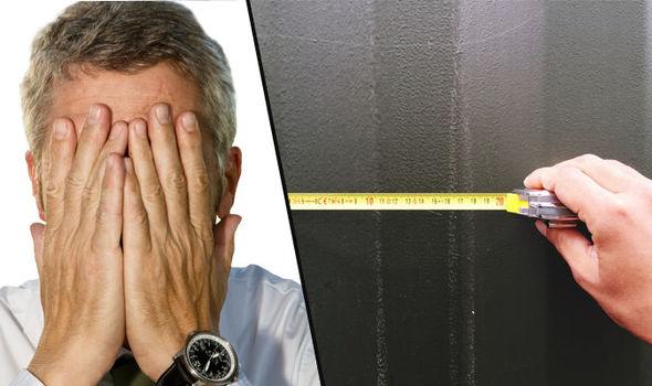Title Image Tape Measure And Ashamed Man