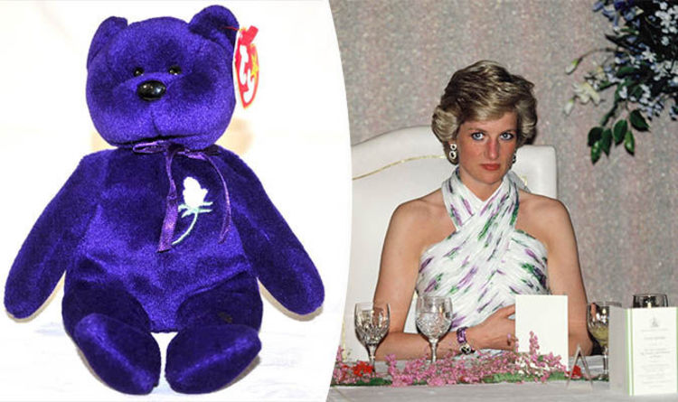 95ad027e167 Princess Diana Beanie Baby on sale for £195