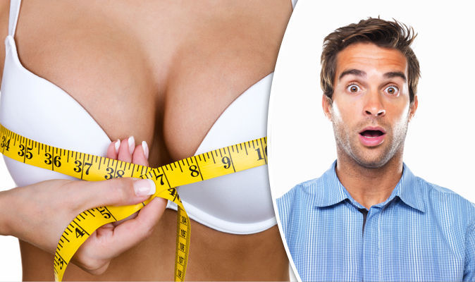 Why cleavage attracts men