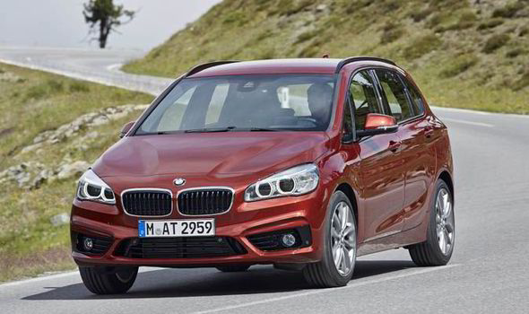 review: bmw 2-series active tourer makes room for mpv | express.co.uk