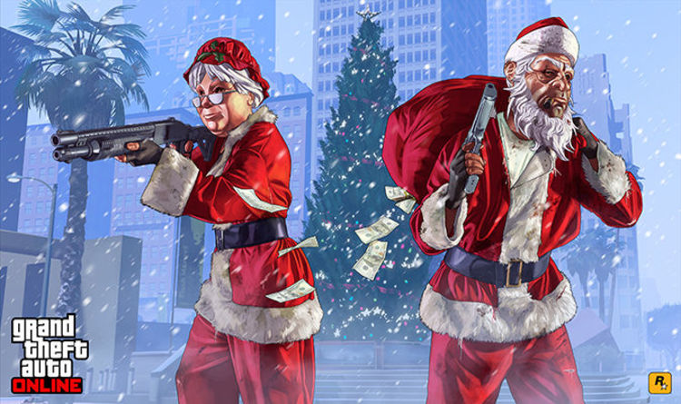 gta 5 online festive surprise countdown christmas event release date dlc gifts and snow gaming entertainment expresscouk