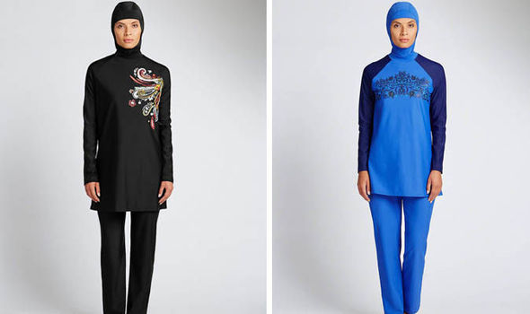 f598f611fdc62 Not just any burkini  Marks   Spencer launch swimwear for Muslim ...