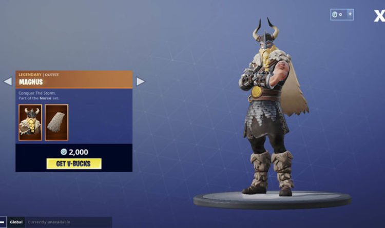 Fortnite Item Shop Update How To Get The Magnus Skin In August 16 - fortnite item shop update how to get the magnus skin in august 16 item shop
