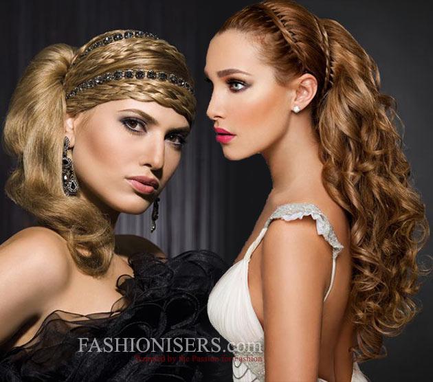 Romantic Greek Goddess Bridal Hairstyles For Women