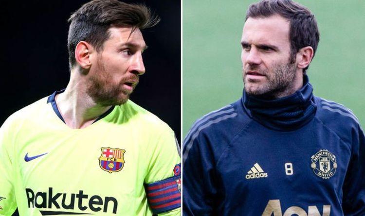 978578daa Lionel Messi  Man Utd star Juan Mata reveals what he told friend about  Barcelona talisman