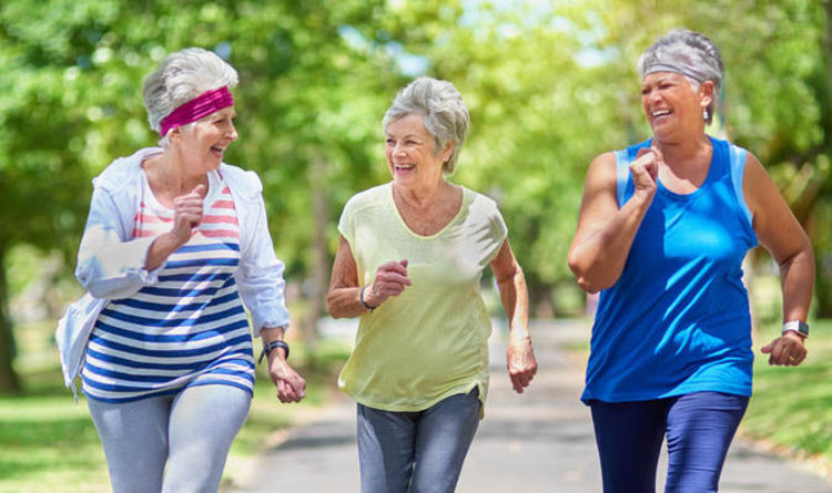 Keep fit for 50 year olds