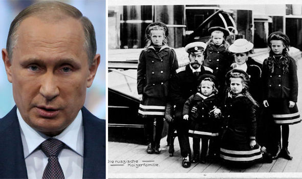 Vladimir Putin 'wants' to reinstate Russia's royal family