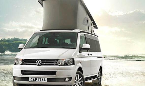 Volkswagen t6 california camper van