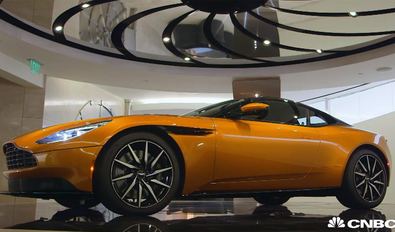 Go Inside The Aston Martin Db11 With Jay Leno