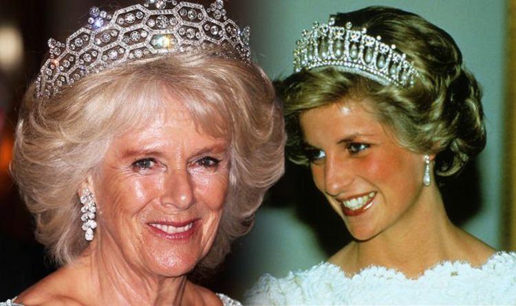 Princess Diana And Camilla Why Is Duchess Of Cornwall S Tiara