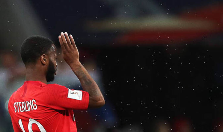 3a055e14d98 World Cup 2018  Why are players using bug spray  How bad are the  mosquitoes  ENGLAND faced Tunisia in ...