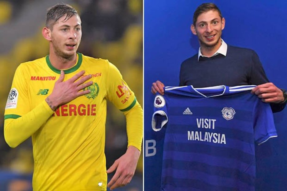 Image result for Cardiff City player Emiliano Sala onboard craft