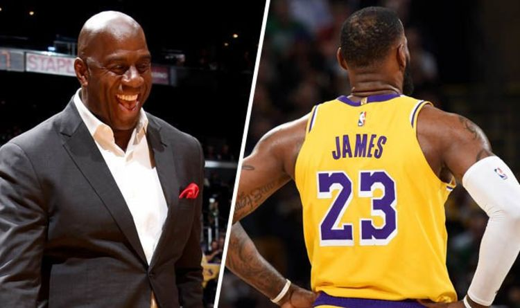 6f1186d8506 Lakers fan site SLAMS LeBron James  influence on Magic Johnson and trade  talk