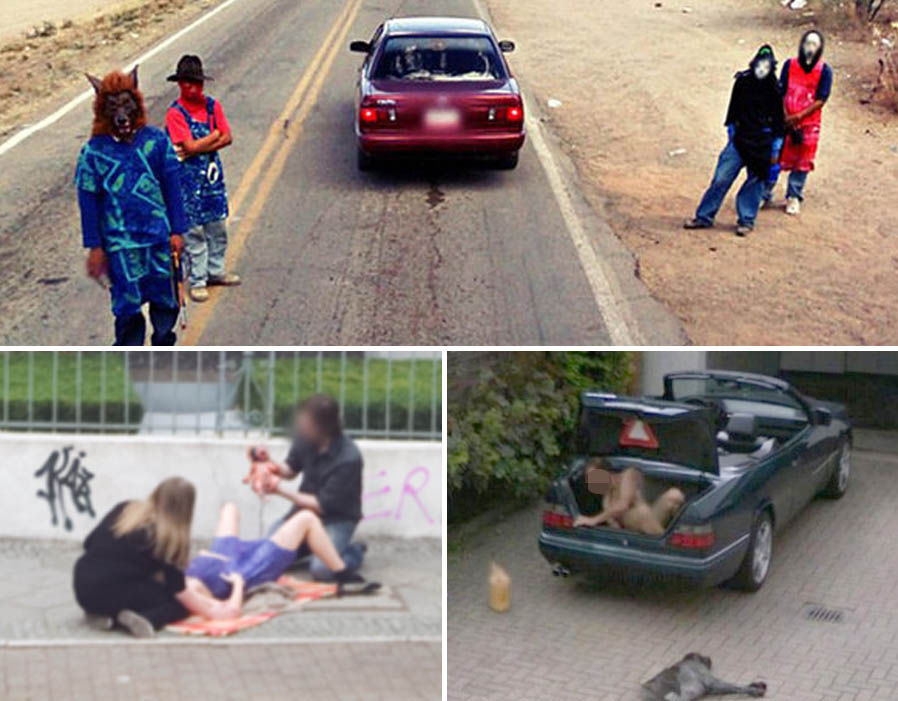Google Maps: Is this street view sighting proof of life after ... on
