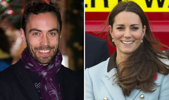 Image result for Kate Middleton and her brother James