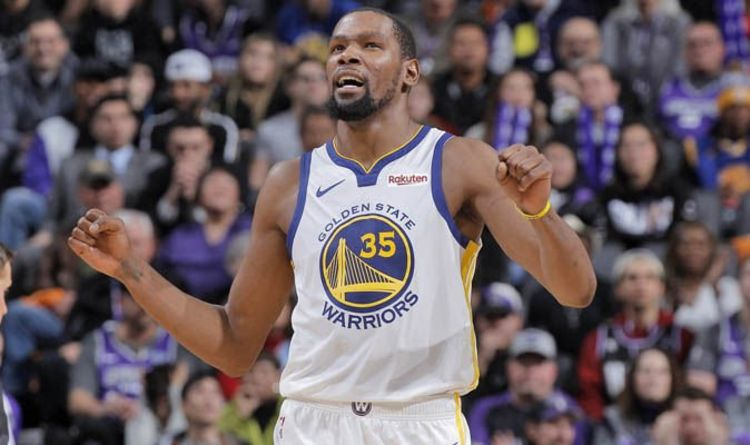 f9b5c0f7a791 Kevin Durant EXCLUSIVE  Knicks given hope of signing Warriors star if this  happens