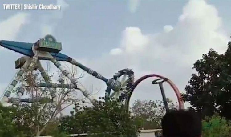 India news: Fairground ride kills three when arm snaps mid-air - 27