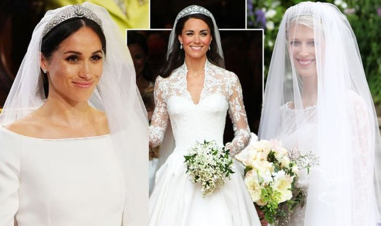 17c4ad3290 Lady Gabriella wedding dress: All the ways her dress mimicked Kate and  Meghan's
