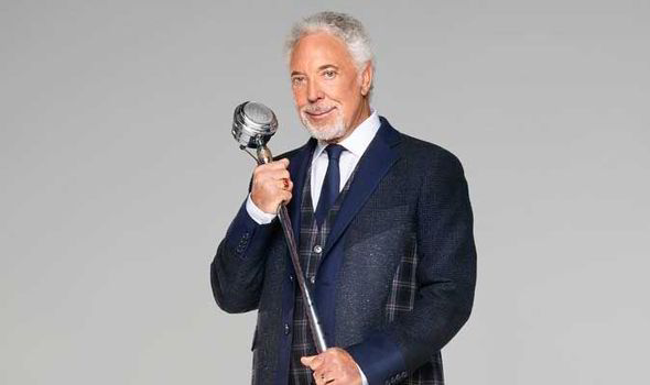 Sir Tom Jones On The Voice Uk Leanne Mitchell And Simon Cowell