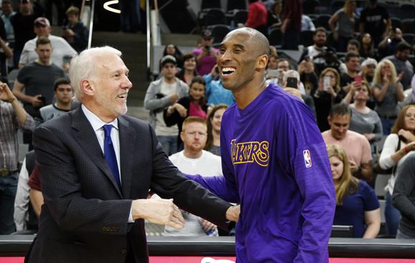 波波維奇執教生涯的最大遺憾:一直都希望執教Kobe!他最喜歡Kobe這種類型的球員!