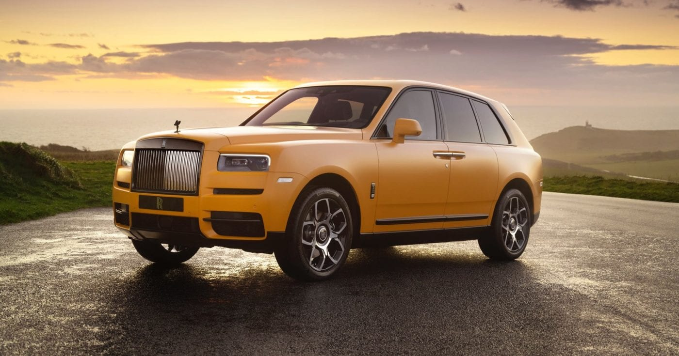 Rolls Royce Unveils Black Badge Cullinan Capella One Of One