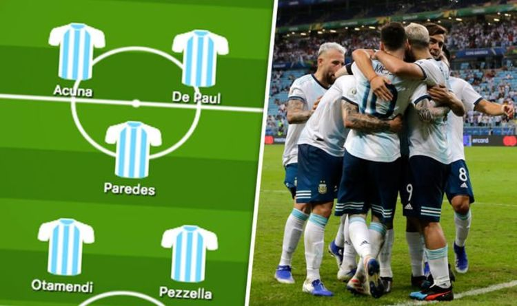 Argentina team news: Predicted 4-3-3 line up vs Venezuela – Two