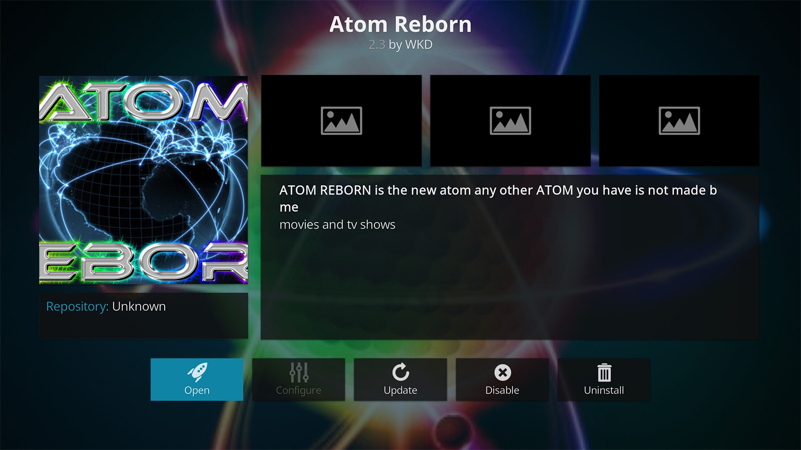 11 Steps to Install Atom Reborn Kodi Addon in 2019 (with
