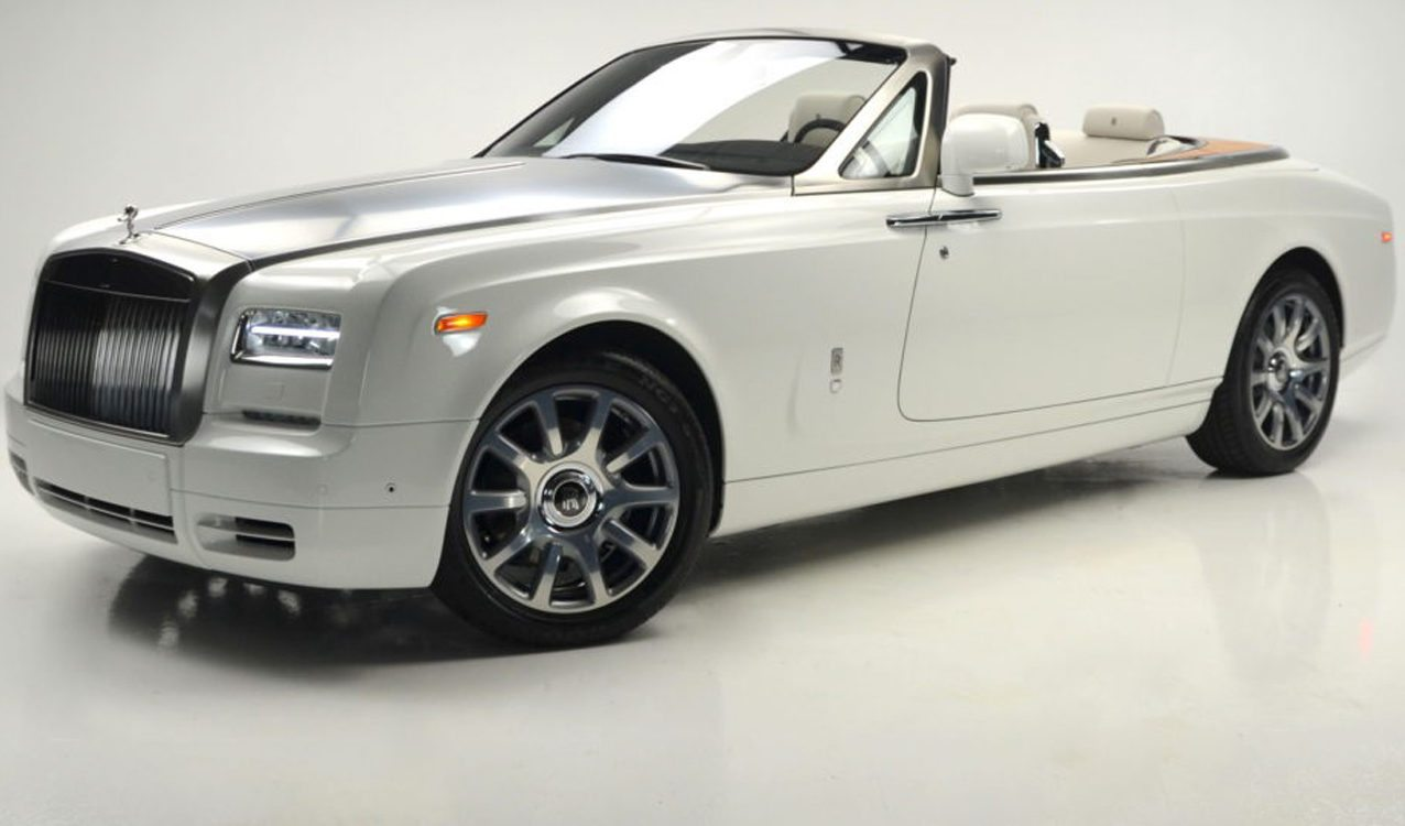 English White 2017 Rolls Royce Phantom Drophead Coupe Series Ii For Sale