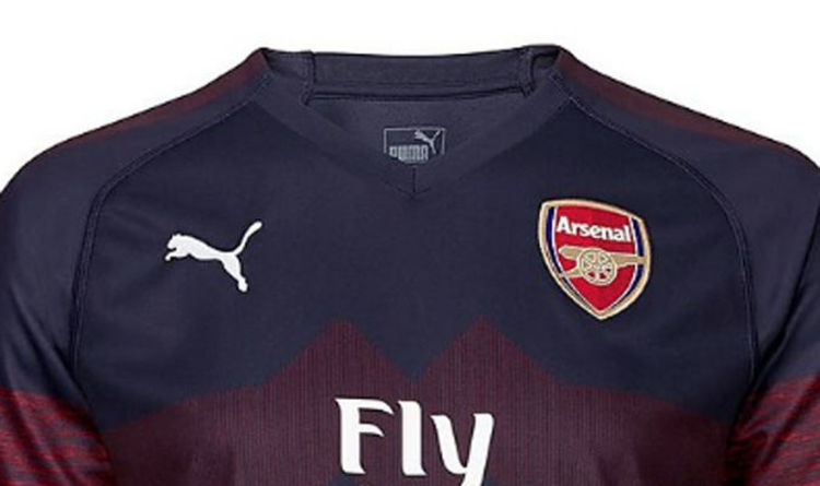 Arsenal Away Kit 201819 Best Pictures As Gunners Unveil New Shirt