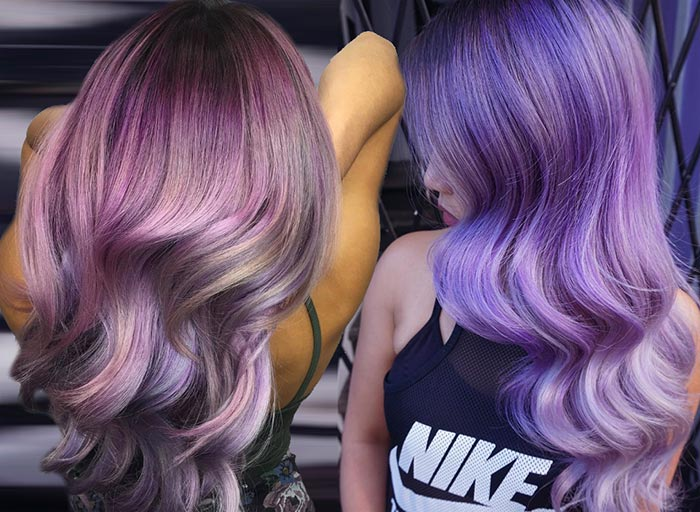 50 Lovely Purple & Lavender Hair Colors - Purple Hair Dyeing ...