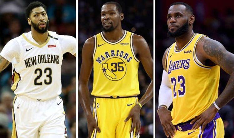 9ca9e7d963a8 NBA trade deadline LIVE  Lakers make Anthony Davis offer