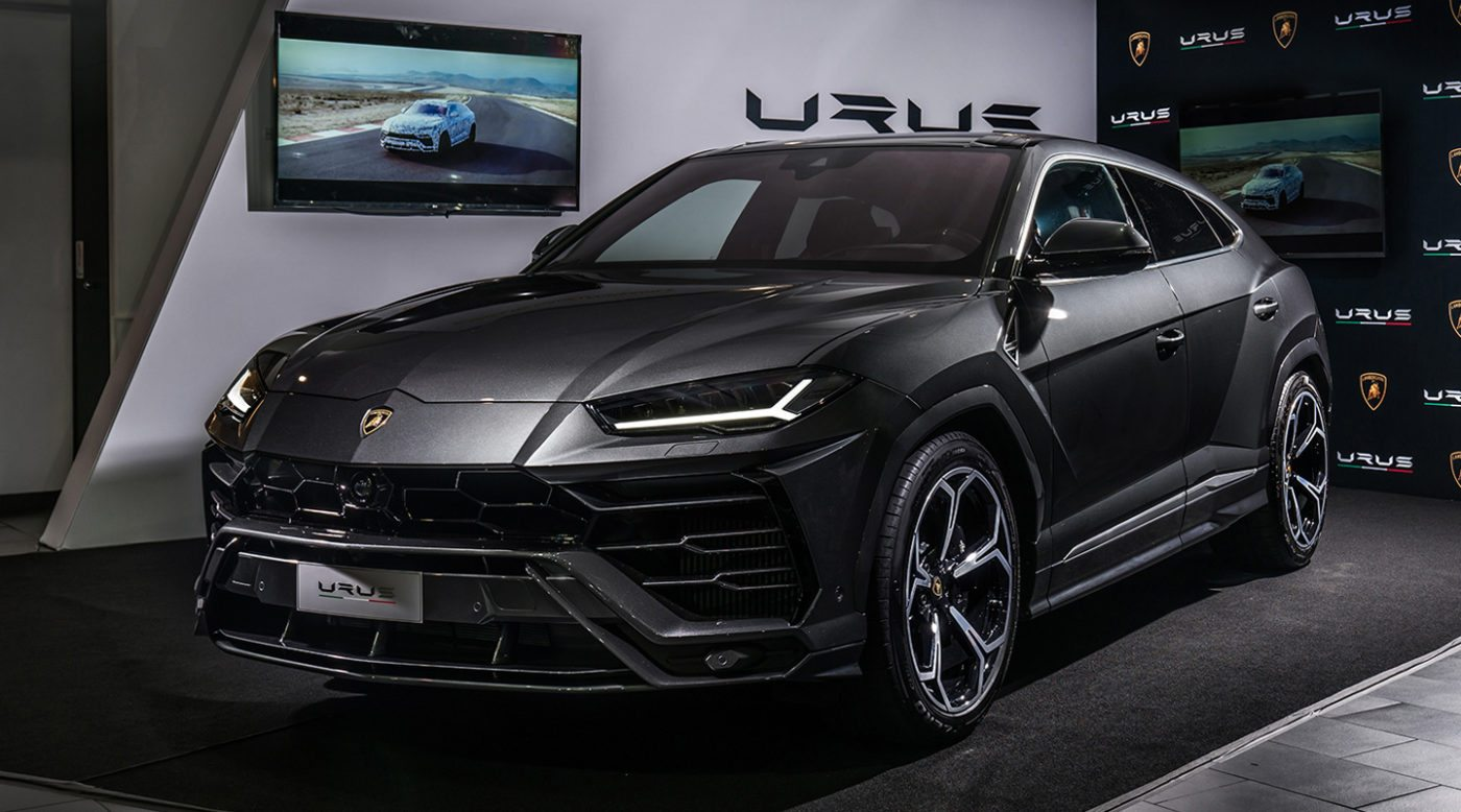 lamborghini urus delivered in california to o'gara coach la jolla