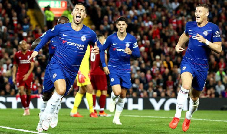 a9f968820 Liverpool 1-2 Chelsea AS IT HAPPENED  Eden Hazard scores winner in Carabao  Cup clash