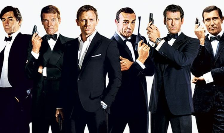 James Bond actors RANKED in new UK poll: 'Best and worst 007