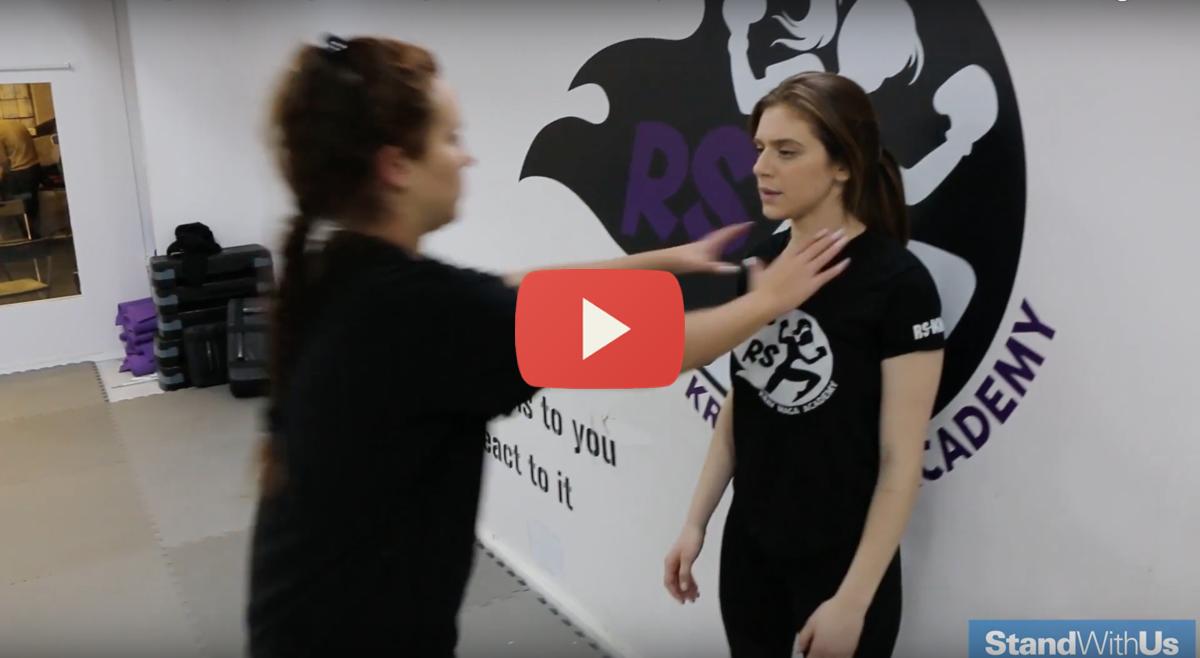 Meet The Female Krav Maga Master Israeli Army Self Defense
