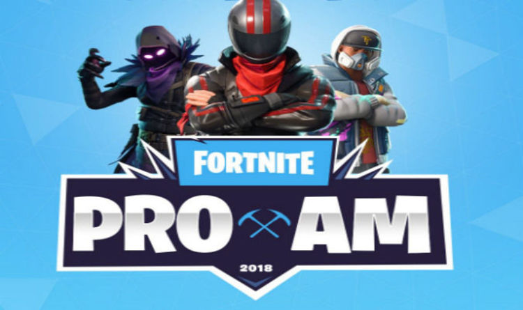 fortnite e3 tournament pro am start times confirmed ahead of big celebrity clash - e3 2018 fortnite date
