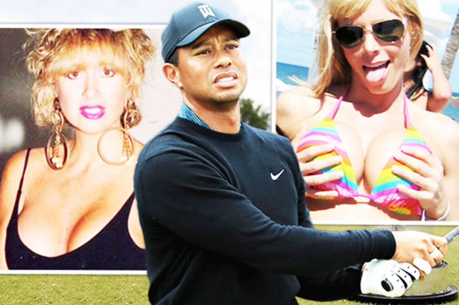 Tiger Woods All The Women Romanced By Golf Star At The Open Daily
