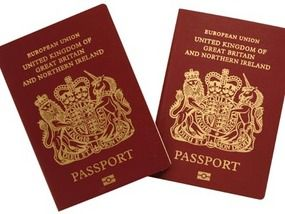Britons Told To Put Eu Stickers On Passports Uk News Express Co Uk
