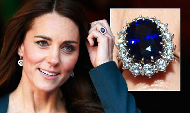 Kate Middleton Wedding You Won T Believe What The Ss Engagement Ring Is Worth Now Express Co Uk